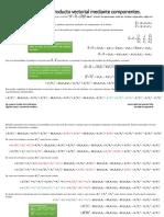 Deduce el módulo del producto vectorial mediante componentes.pdf