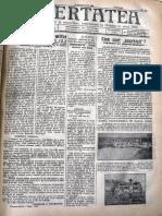 Libertatea anul 33, nr. 23, 13 sept. 1936