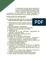 Efectos de La Prednisolona
