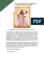 1. Novena Bìblica a Nuestra Señora de La Candelaria