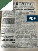 Libertatea anul 33, nr. 24, 20 septembrie 1936