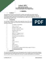 Liebert Aps Guide Specifications (1)