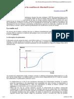 La courbe en J et la condition de Marshall-Lerner