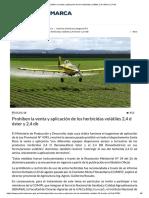 Prohíben la venta y aplicación de los herbicidas volátiles 2,4 d éster y 2,4 db.pdf