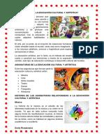 QUÉ ES LA EDUCACIÓN CULTURAL Y ARTÍSTICA.docx