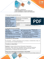 Guía actividades y rúbrica evaluación - Tarea 2 -  Proceso Administrativo- Planeación- Organización.docx
