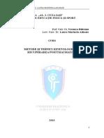 CURS Metode Si Tehnici Kinetologice in Recuperarea Posttraum
