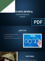 Éxtasis MDMA