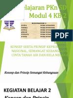 Pembelajaran Pkn di SD Modul 4 KB 2