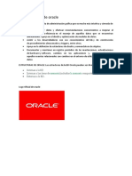 Características de Oracle
