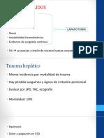 Truma hepatico, esplenico