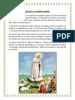 13 de Mayo Dia de La Virgen Maria