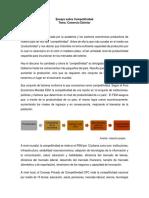 La competitividad en Colombia - Comercio Exterior