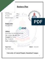 Ease App (Entrepreneur's Idea)