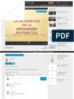 Https Es Slideshare Net Guestc0cda9 Estadistica-3025028
