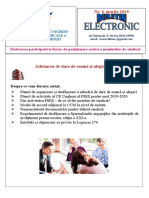 Buletin Electronic Martie 2019