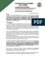 RESOLUCIONES DE ALCALDIA N° 004-2019