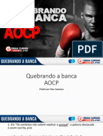 Elias Santana Quebrando a Banca AOCP