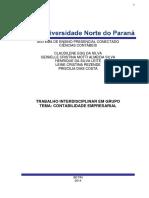CONTABILIDADE EMPRESARIAL E TRABALHISTA (CIÊNCIAS CONTÁBEIS)
