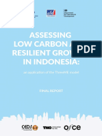 AFD-Bappenas - Assessing Low Carbon and Resilient Growth in Indonesia