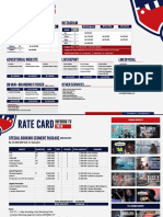 Rate Card (C) 2018