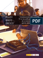 TIC y políticas de prevención