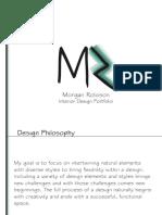 smaller size printed portfolio