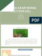 Minyak Akar Wangi (Vetiver Oil)