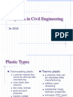 Polymer in Civil Engineering