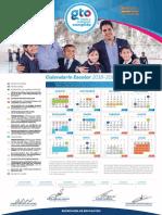 Calendario Escolar 2018-2019 GTO