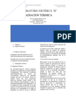 radiacion termica