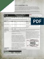 Forgeworld Necron Seraptek Datasheet