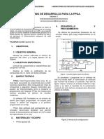 Info 1 Cda - Entorno de Desarrollo Para La Fpga.
