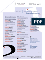 INBA Diplomado en Literaturas Europeas