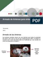 Armado de Antenas Ceragon configuración XPIC