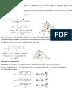 Bisectriz de Un Triangulo