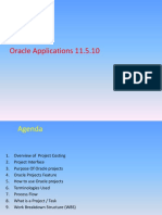 Projects in Oracle Applications