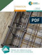 NIT 250 - Détails Pour Constructions Enterrées