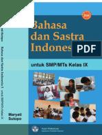 Bahasa Dan Satra Indonesia 3 Kelas 9 SMP