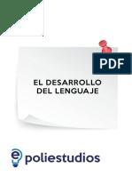 Desarrollo Del Lenguaje Fonológico, Léxico, Semántico y Morfosintáctico