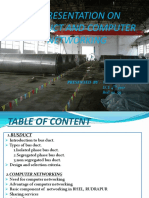 Bus duct and computer networks