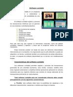 software contable. resumen
