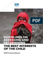 Guidelines on the Best Interes of Child