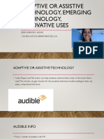 adaptive technology presentation