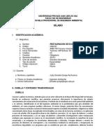 807 UPSC Restauracion de Ecosistemas 2019 - I