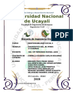Diagnostico del Jr Iparia - Pucallpa - Yarinacocha