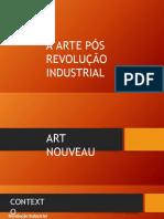 Arte Pós Revolução Industrial