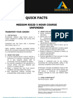 ADEADV1044 - Quick Facts & T&C - 5 Hour Medium Rigid UNFUNDED