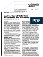 SPE Paper - Waterflood Overview