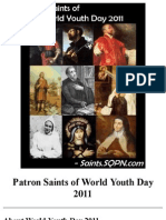 Patron Saints of World Youth Day 2011